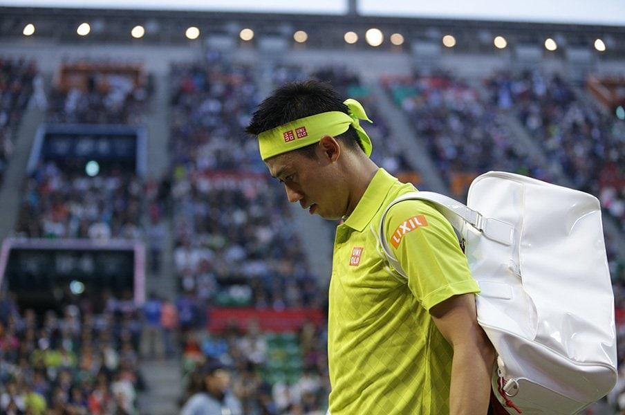 沸騰するテニス人気が錦織圭に集中。異常な注目度を軽減してあげたいが……。<Number Web> photograph by Hiromasa Mano