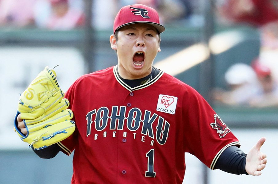 サファテと松井裕樹の成績がエグい。50セーブに0点台、でも実は対照的。<Number Web> photograph by Kyodo News