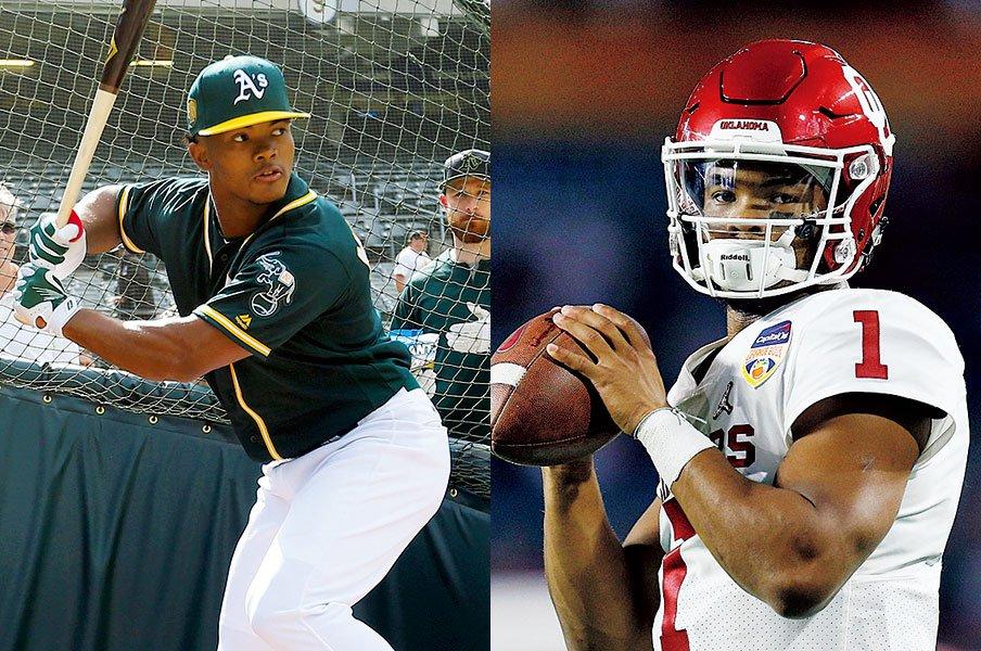 アメフトと野球の二刀流。カイラー・マレーの決断は?~MLB、NFLの両方で1巡目指名も~<Number Web> photograph by Getty Images