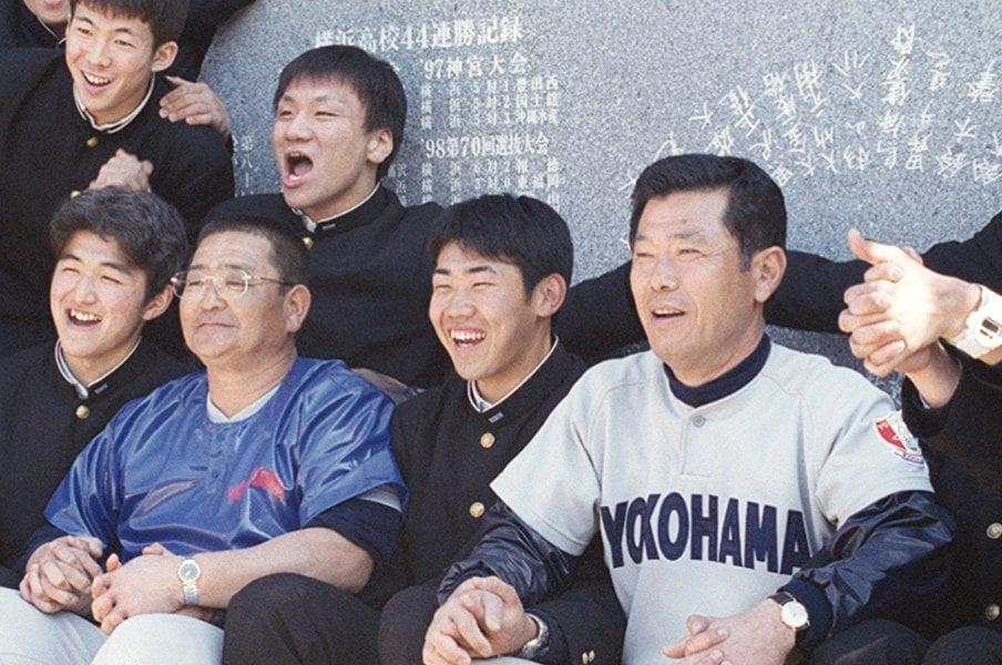 """松坂大輔が""""勝てる投手""""である理由。小倉元部長に育まれた横浜高の遺伝子。<Number Web> photograph by Kyodo News"""