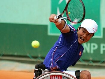 怪我からの再起で見せた、王者・国枝慎吾の凄み。~車いすテニス、パラ五輪連覇を~<Number Web> photograph by Hiromasa Mano