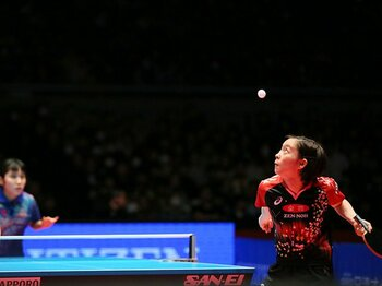 卓球全日本女子ベスト8中6人が10代。リオだけでなく東京五輪まで見えた!?<Number Web> photograph by YUTAKA/AFLO SPORT