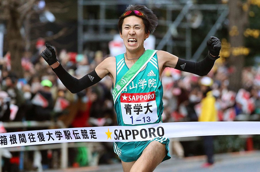 圧倒的な層の厚さが生んだ4連覇。青山学院大学に入った「スイッチ」。<Number Web> photograph by Kyodo News