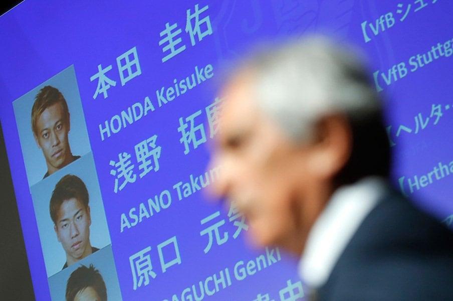 ハリルJの決意、野心、自信の核。本田にも、今野にも明確な理由が。<Number Web> photograph by Yohei Osada/AFLO SPORT