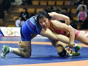 レスリング界の新星は女子高生!登坂・伊調に挑む須崎&南條。