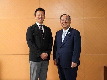 ラグビーW杯御手洗会長との対話で、NSBC発起人・池田純が考えたこと。<Number Web> photograph by Shigeki Yamamoto