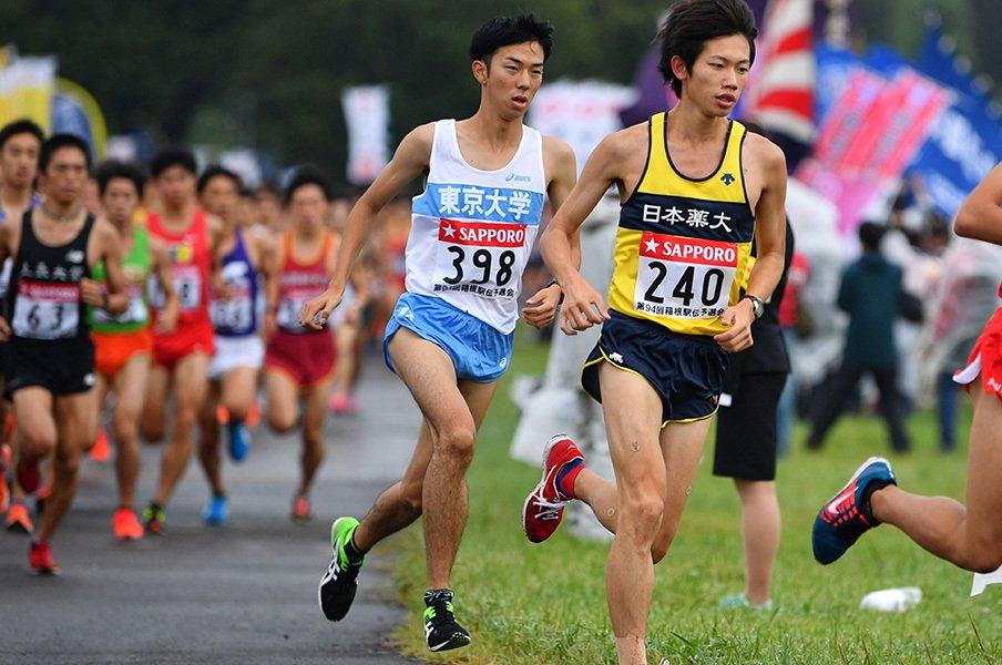 「二兎を追う」文武両道ランナーたち。それぞれが目指す箱根路。 <Number Web> photograph by AFLO