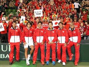 日本代表選手としての錦織圭に注目!デ杯で日の丸を背負う戦いが、始まる。