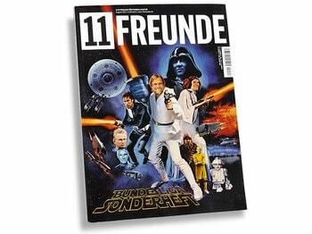 今、ドイツで最も熱いサッカー・カルチャー誌。~『11 フロインデ』の魅力~<Number Web> photograph by Sports Graphic Number