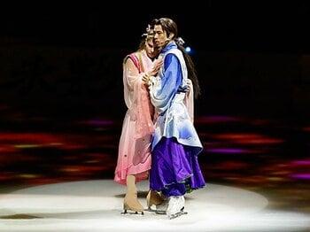 光源氏役で氷上でのラブシーンも。表現者・高橋大輔が見せた新領域。<Number Web> photograph by Kiichi Matsumoto