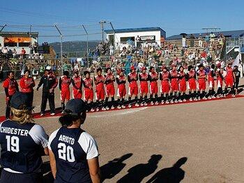 女子ソフト42年ぶり世界一。五輪前に健在をアピール。~北京から4年で変わったこと~<Number Web> photograph by Atsushi Sugimoto