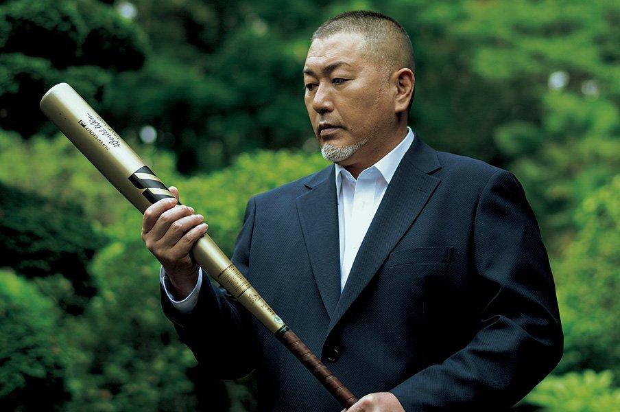 甲子園13本塁打の金属バットと再会した清原和博の「告白」。<Number Web> photograph by Takuya Sugiyama