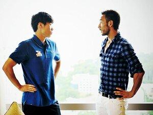 <スペシャル対談> 中田英寿×パク・チソン 「アジアのリーダーとして」