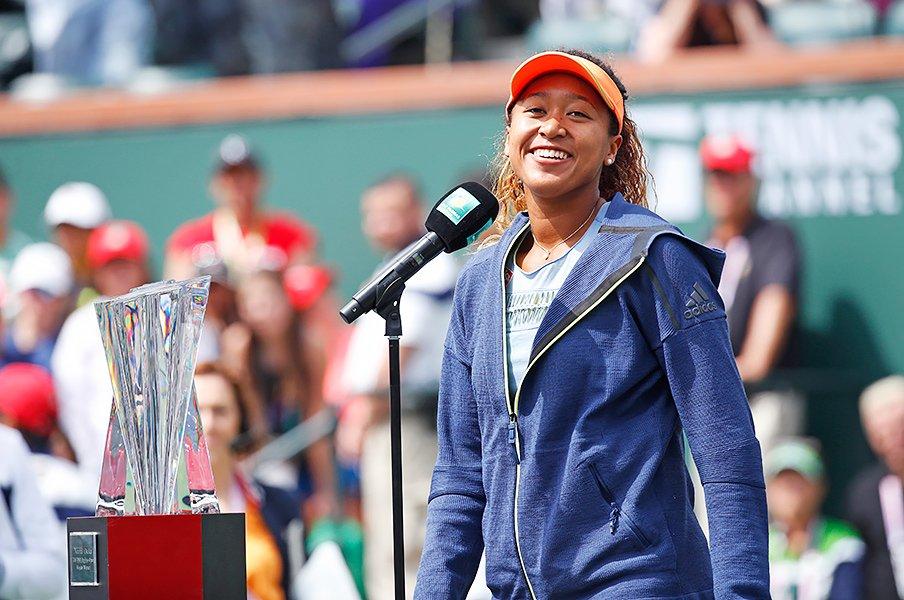 大坂なおみはハイチの誇りでもある。スポーツと国籍とアメリカンドリーム。<Number Web> photograph by ZUMA Press/AFLO