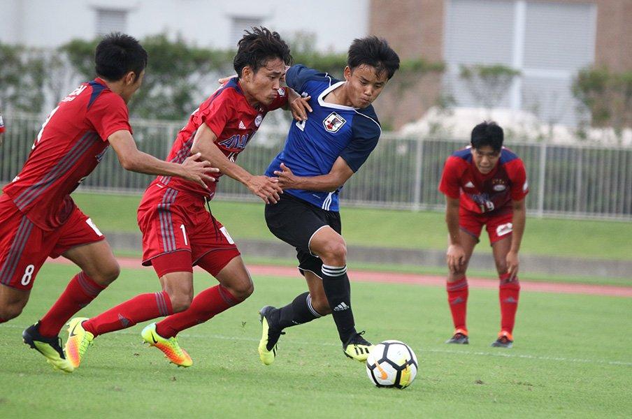 U-19選手権の初戦は難敵・北朝鮮!久保建英ら五輪世代がW杯への船出。<Number Web> photograph by Takahito Ando