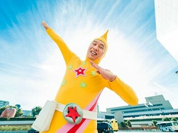 バットマン? スーパーマン?いや、日本には「ストレッチマン」がいる。<Number Web> photograph by Atsushi Kondo