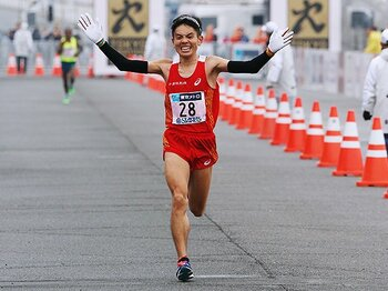 マラソンと箱根駅伝。~五輪代表選手との関係性~<Number Web> photograph by AFLO