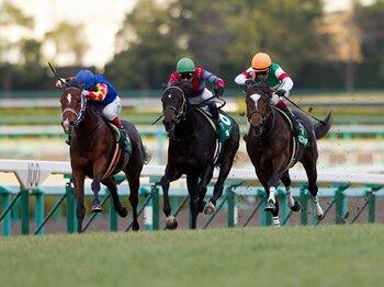 """エピファ、コディーノ、キズナ……。弥生賞、""""最強3歳馬""""たちの競演。<Number Web> photograph by Kiichi Yamamoto"""