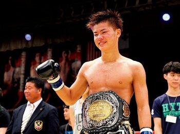"""高校生王者・那須川天心の""""誰にも負けない""""宣言。~キックボクシング界に新星現る~<Number Web> photograph by Susumu Nagao"""