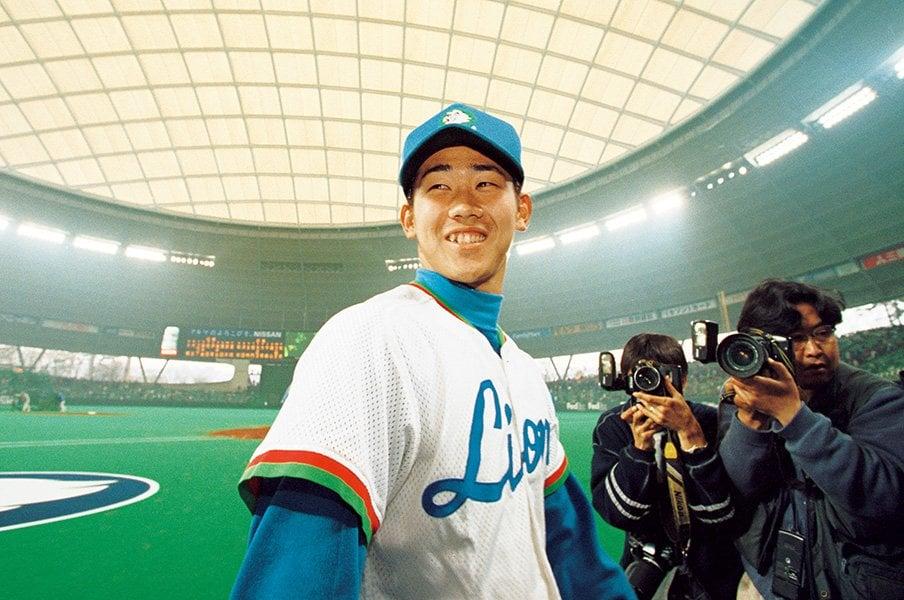 <1999年の怪物と宇多田ヒカル>松坂大輔「僕、野球が仕事だって思ってないですから」<Number Web> photograph by Hideki Sugiyama