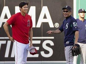 イチロー、大谷翔平への思い入れ。「サイヤング賞翌年に本塁打王を」