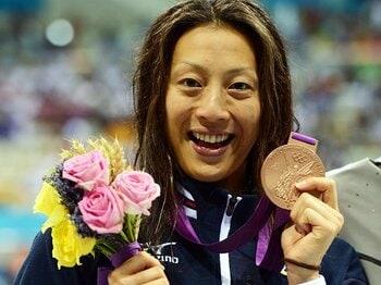 絶対に夢をあきらめない……。寺川綾ら競泳メダリストの五輪秘話。 <Number Web> photograph by Tetsuya Higashikawa/JMPA