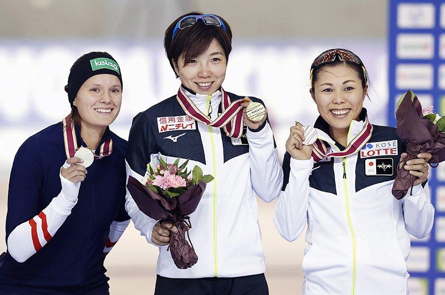 スピードスケートに不可欠の土台、開西病院と十勝地方の幸せな関係。<Number Web> photograph by Kyodo News