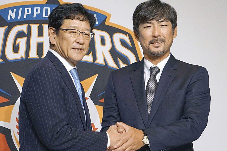 日本ハムに小笠原道大が戻ってくる。再会した広報が思い出した威圧感。<Number Web> photograph by Kyodo News