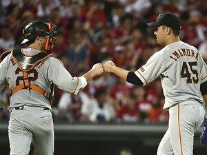 """「左対左は投手有利」は本当か?""""勇気""""で化けた、巨人・今村信貴。"""