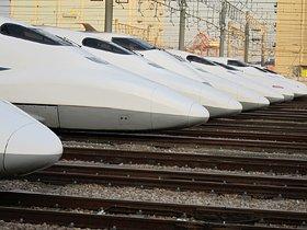 今日は寒いから、南へ行こう!?羽田空港と新幹線車両基地を目指せ。