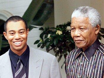マンデラ氏に捧げる感謝と哀悼。ゴルフ界に残る伝説のスピーチとは。<Number Web> photograph by REUTERS/AFLO