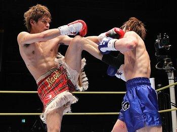 キックはK-1の二軍じゃない!石川直生が苦しむパラドクスとは?<Number Web> photograph by Takeshi Maruyama