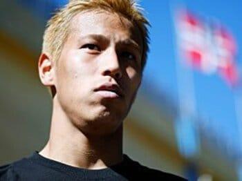 <合宿密着記> 本田圭佑 「CSKAはまだ通過点」<Number Web> photograph by Daisuke Nakashima