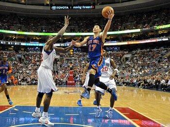 ジェレミー・リン旋風。~NBAの枠を超え全米が熱狂~<Number Web> photograph by Getty Images