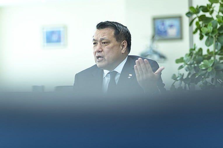 田嶋会長はAFCに対して確認を取った(撮影は別日)©Takuya Sugiyama / photograph by