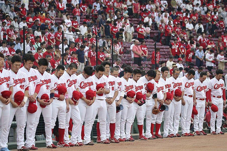 16日ぶりにプロ野球が帰ってきた。カープは広島の希望になるべく戦う。<Number Web> photograph by Kyodo News