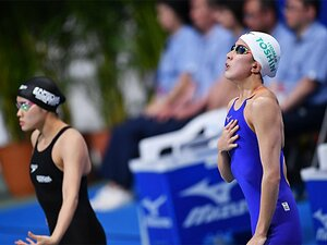 萩野、池江不在の中で競泳陣が不振。平井コーチ「分析していかないと」。