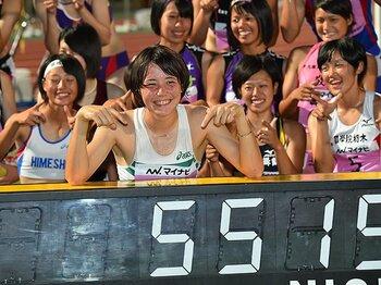 女子七種競技の新星・ヘンプヒル恵。東京五輪を視野に、まずは高校制覇。<Number Web> photograph by AFLO
