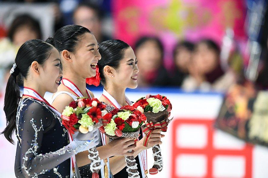 超ハイレベルな全日本フィギュアで、勝負を超えた女子選手達の意地を見た。<Number Web> photograph by Asami Enomoto