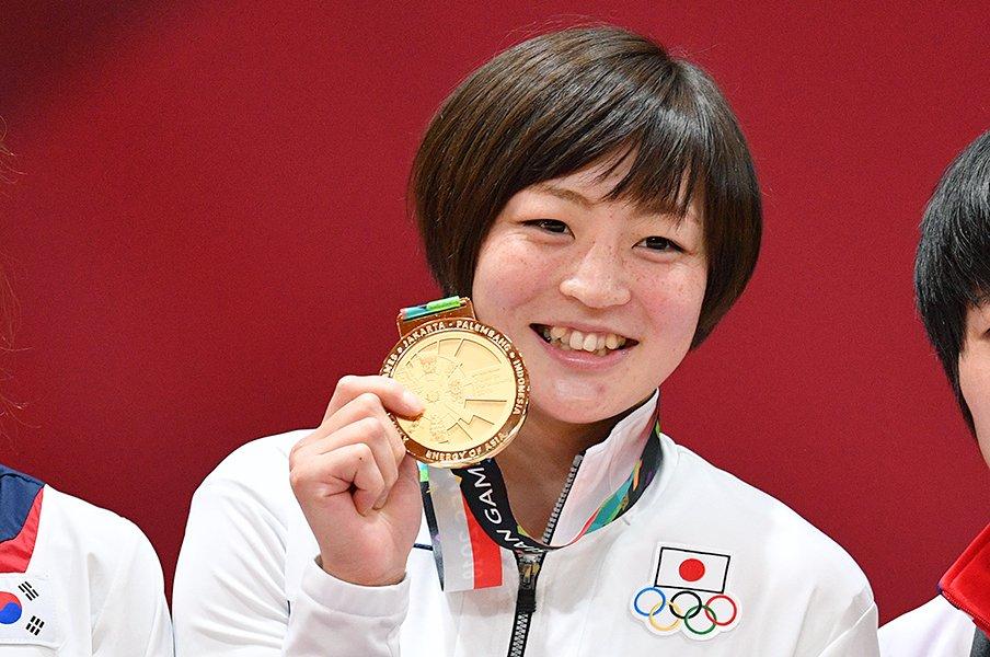 アジアで金、女子柔道・角田夏実はケーキ屋さんになりたかった。