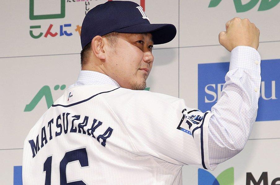 元西武・長田も繰り返す「すごい」。色あせない松坂大輔へのリスペクト。<Number Web> photograph by Kyodo News