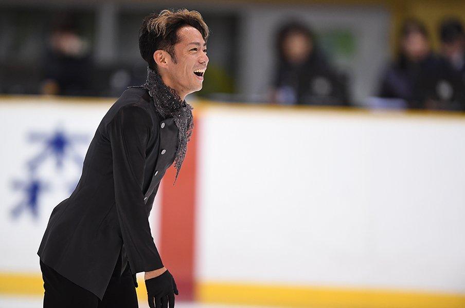 高橋大輔が全日本の舞台に帰還。氷上で常に明るく、希望を持って。<Number Web> photograph by Asami Enomoto