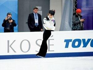 羽生がロシア杯で味わった「4回転」を跳び分ける難しさ。~ノーミスよりも、さらに上を目指す決断~