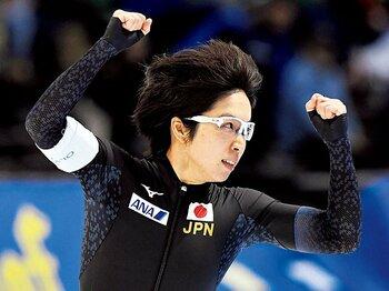 小さくても勝てます。~公称168cmのメジャーリーグMVPと、日本スピードスケートのエース小平奈緒~<Number Web> photograph by KYODO