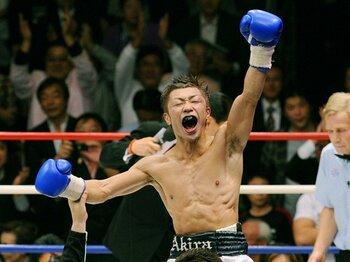 名勝負を生み続ける聖地。後楽園ホール50年の記憶。~ボクシングで最高の試合は?~<Number Web> photograph by KYODO