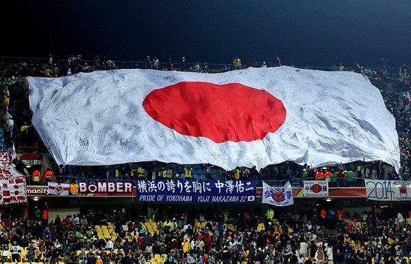 日本サポーターたち