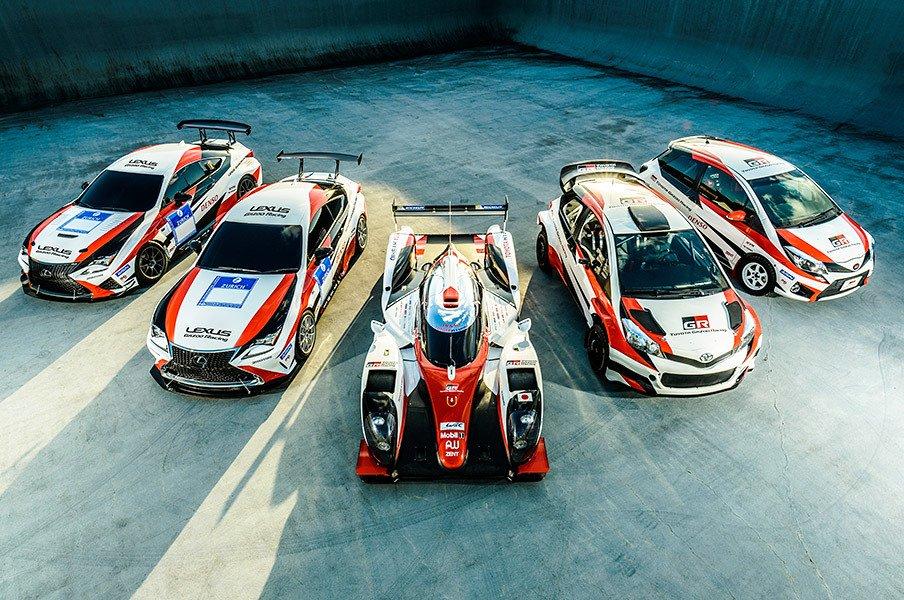 トヨタ GAZOO Racingの2016年は?モータースポーツ活動計画を発表。<Number Web> photograph by TOYOTA
