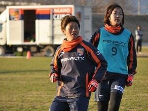 長野から、なでしこのエースへ――。進化し続けるストライカー・横山久美。