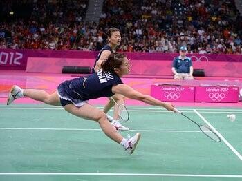 日本バドミントン界の悲願達成!フジカキの偉業とオリンピック精神。<Number Web> photograph by Shinji Oyama/JMPA