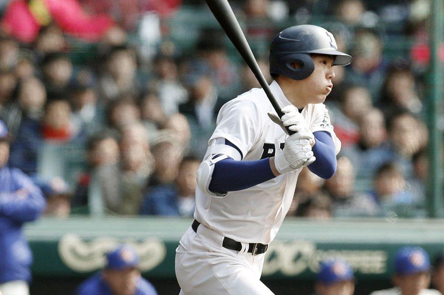今年の高校野球は人材が濃いぞ……。選抜ベスト8の選手で打線を組んだ。<Number Web> photograph by Kyodo News